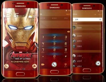 Buying the iron man galaxy s6 edge requires tony stark's bank.
